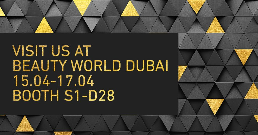 Visit us at Beautyworld Dubai